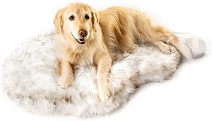 Treat A Dog Faux Fur Memory Foam Pet Bed