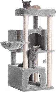 Hey-Brother Multi-Level Cat Tree Condo Furniture