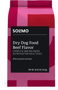 AMAZON BRAND- SOLIMO BASIC DRY DOG FOOD WITH GRAINS
