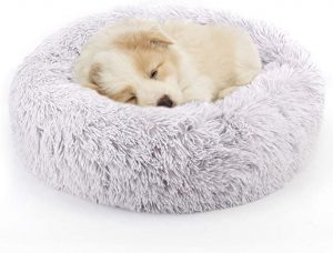 NOYAL Donut Dog Cat Bed, Soft Plush Pet Cushion, Pet Bed - Improved Sleep for Cats Small Medium Dogs (Multiple Sizes)