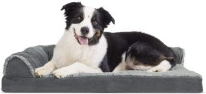 Furhaven Pet - Mattress, & Long Faux Fur Calming Donut Dog Bed for Dogs & Cats - Multiple Styles, Sizes, & Colors