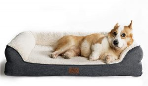 Bedsure Orthopedic Dog Bed - Dog Sofa with & Couch Dog Beds for Small, Medium, Large Pets up to 50/75/100 lbs