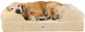 FRIENDS FOREVER ORTHOPEDIC DOG BED LOUNGE