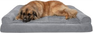 Furhaven Packable L-shaped Pet Bed