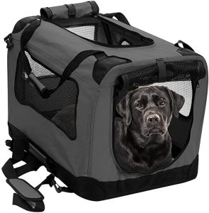 2PET Foldable -Soft Easy to Fold Dog Crate