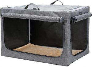 Petsfit Travel Pet Home Indoor/Outdoor for Dog Steel Frame Home