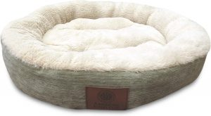 American Kennel Club Casablanca Solid Round Pet Bed