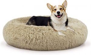 THE DOG'S BED SOUND SLEEP DONUT DOG BED