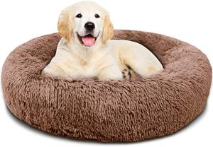 Covacure Store Donut Calming Dog Bed