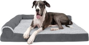 Furhaven Plush Orthopedic Pet Bed