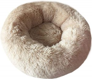 BODISEINT Modern Soft for Cats or Small Dogs, Dog Cat Bed Indoor Snooze Sleeping Cozy Kitty Teddy Kennel