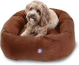 Majestic Pet Store Suede Dog Bed