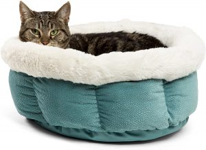 BEST FRIENDS BY SHERI CUDDLE CUP COZY DOG BED