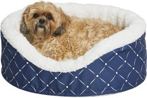 """MidWest Homes for Pets """"Couture Orthopedic Cradle Pet Bed for Dogs & Cats"""