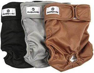 Pet Parents Premium Washable Dog Diapers