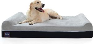 Laifug Extra Large Memory Foam Dog Bed