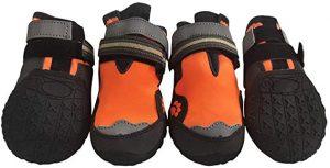 MR-BABULA Outdoor Mountaineering Waterproof Dog Boots