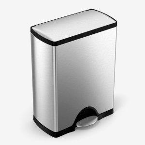 Simplehuman 50 Liter 13 Gallon Rectangular Kitchen Step Trash Can