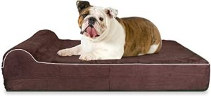 KOPEKS High-Grade Memory Foam Dog Bed