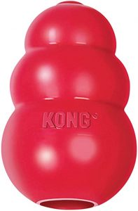 KONG - Classic Natural Rubber Dog Toy (balls shaped) chew toy