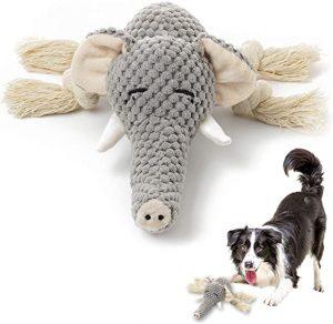 KOL Dog Plush Toys Dog Chew Toys Pet Squeaky Toys