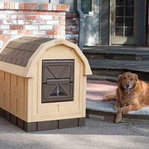 Deluxe Insulated Dog Palace by ASL Solutions