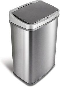 Ninestars DZT-50-28BR Gallon Automatic Dog Proof Trash Can