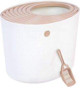 Iris Top Entry Litter Box with Scoop