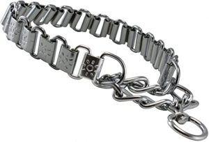 Metal Plates Martingale Dog Collar