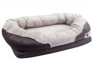 BarksBar Snuggle Sleeper Extra Comfy Dog Bed