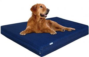 DogBed4Less Premium Orthopedic Memory Foam Dog Bed