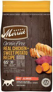 Merrick Grain-Free, Real Chicken & Sweet Potato Recipe