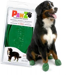 Pawz Dog Boots Large Size Waterproof Shoes for Clean Paws