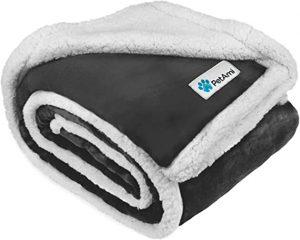 PetAmi Sherpa Dog Blanket