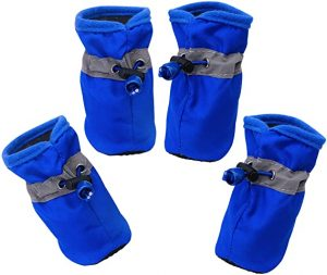 YAODHAOD Dog Rubber Boots Paw Protector
