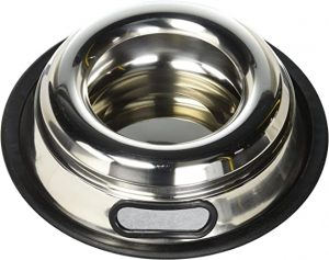 Indipets Stainless Steel Spill-Proof Bowl