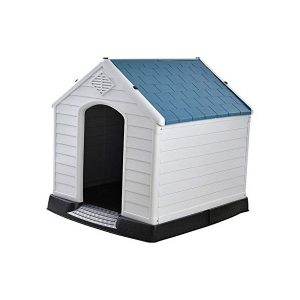 MTFZD Garden Large Plastic Outdoor Dog House